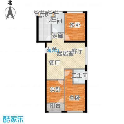 凤城国际广场板楼A户型