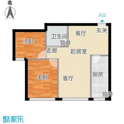 凤城国际广场板楼B户型