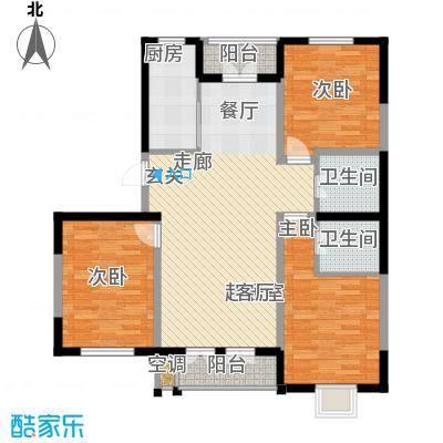 唐冶凤凰城101#4单元C13室户型