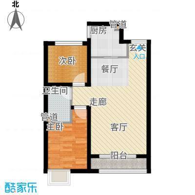 启新18894-2#楼D户型