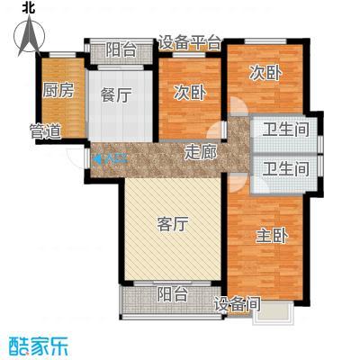北京公馆E1户型