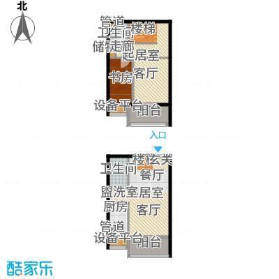 东润财智公馆86户型