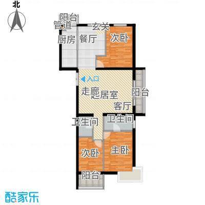 东润财智公馆128户型