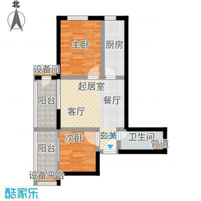东润财智公馆C座77户型