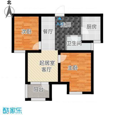 荣盛锦绣天地11#楼标准层F户型