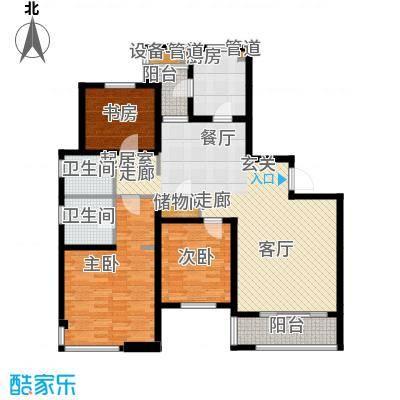 仁恒湖滨城C2-1户型