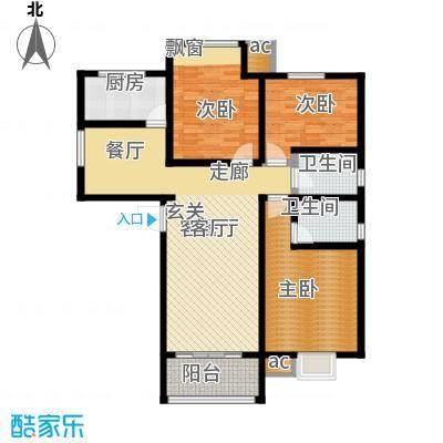 钢城水岸1#5#楼K2户型