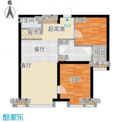 省邮电局宿舍78.00㎡面积7800m户型