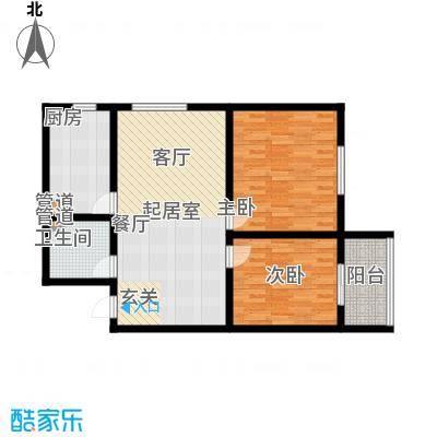 置嘉公寓90.00㎡2-面积9000m户型