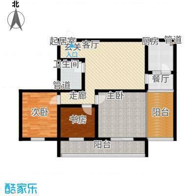 置嘉公寓102.00㎡3-面积10200m户型