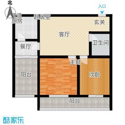 置嘉公寓95.00㎡2-面积9500m户型