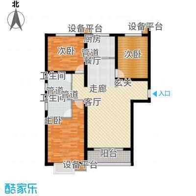 旭丰公寓124.00㎡面积12400m户型