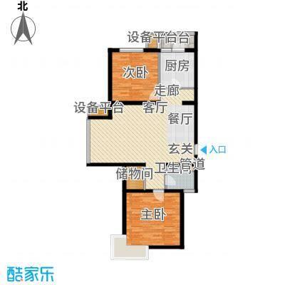 旭丰公寓99.49㎡B面积9949m户型