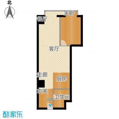 万隆国际中心82.75㎡c8275面积8275m户型