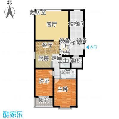 富金大厦123.34㎡面积12334m户型