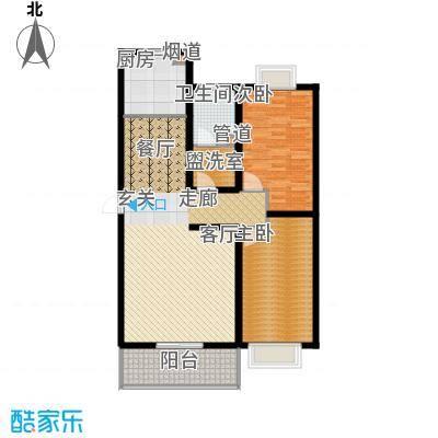 芳华怡园102.79㎡面积10279m户型