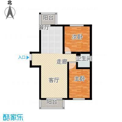 东港龙城94.28㎡R-a反面积9428m户型