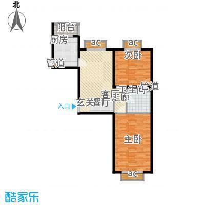 文苑凤凰城2号楼C3'户型
