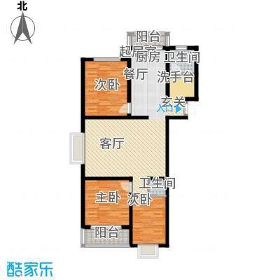 恒益馨苑108.27㎡d面积10827m户型