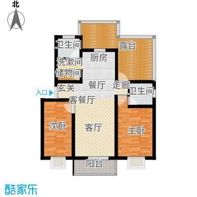 碧水蓝湾107.59㎡E已售完2面积10759m户型