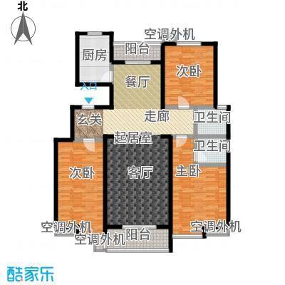 君晓家园144.96㎡君晓小区户面积14496m户型