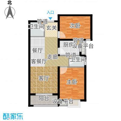 富源城93.96㎡1-A5(东)面积9396m户型