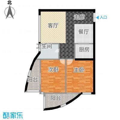 中铁大厦89.84㎡精英私享派(空面积8984m户型