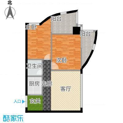 中铁大厦89.84㎡精英享受派(空面积8984m户型