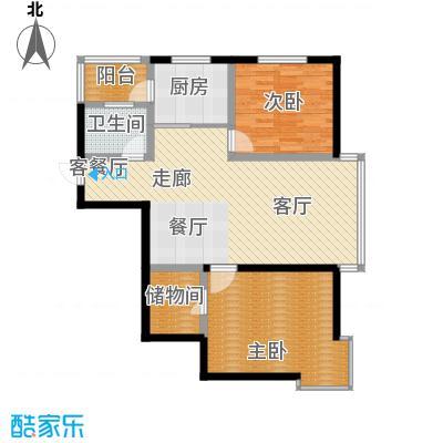 和谐家园111.00㎡3#5#K1110面积11102m户型