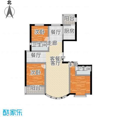 和谐家园158.61㎡6#O15861面积15861m户型