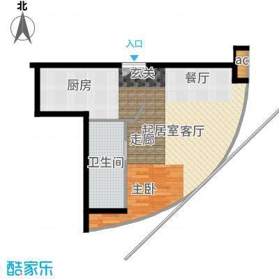 万豪大厦58.46㎡1面积5846m户型