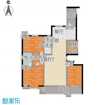 和谐家园175.00㎡4#G175面积17500m户型