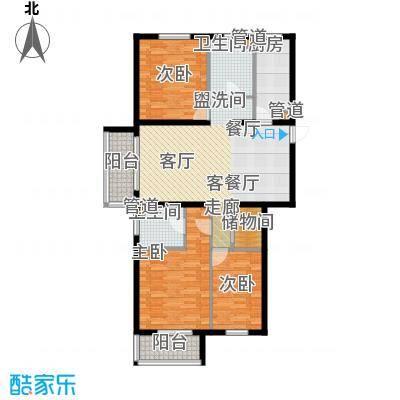 奥特锦鸿嘉苑3居室2户型
