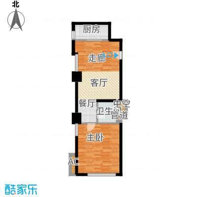 中宏汇景国际81.10㎡酒店式公寓面积8110m户型
