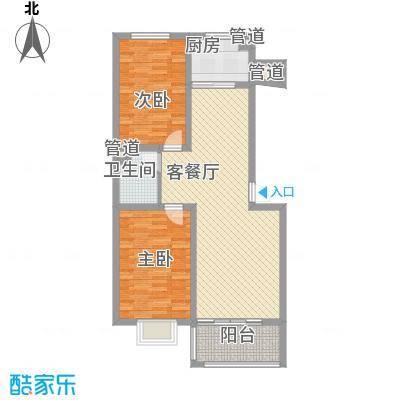 神奇庭院92.20㎡7号楼A922面积9224m户型