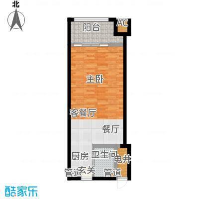 乐城半岛60.00㎡公寓31面积6000m户型