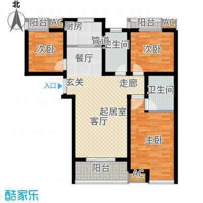 乐城半岛119.00㎡住宅32面积11900m户型