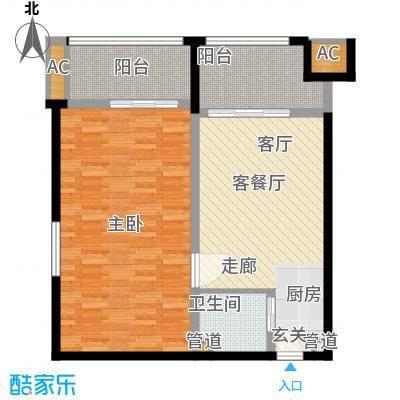 乐城半岛98.00㎡公寓11面积9800m户型