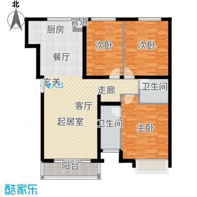 西美70后院127.00㎡5号楼127―13面积12700m户型