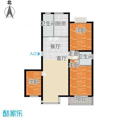 金水豪庭138.14㎡面积13814m户型