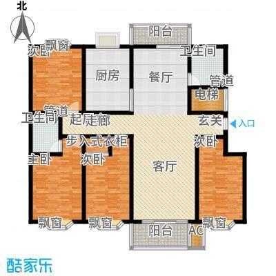 旭景琴园170.62㎡面积17062m户型