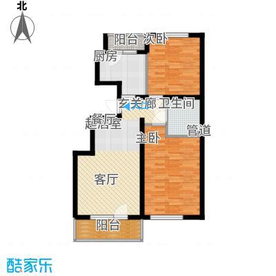 曹妃甸国际生态城万年丽海花城95.00㎡面积9500m户型