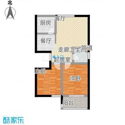 碧水秀城89.65㎡2户型