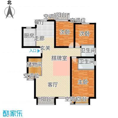 丰润帝景豪庭176.84㎡6号楼--A4+面积17684m户型
