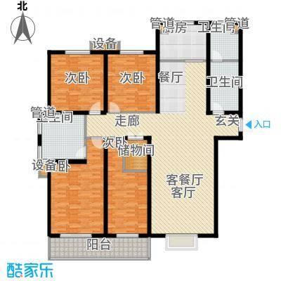 鹏远公寓183.00㎡面积18300m户型