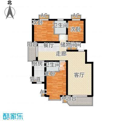 省建行宿舍115.00㎡面积11500m户型