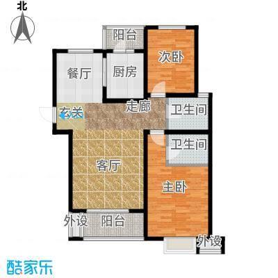 藏龙福地93.58㎡已售完2面积9358m户型