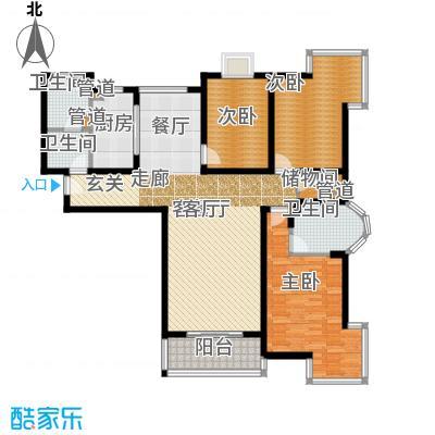 卓达星辰花园165.76㎡3-2-21面积16576m户型