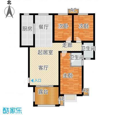 金桥天海湾15#楼A2户型