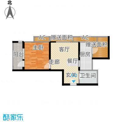 西溪诚园1号楼标准层A1户型